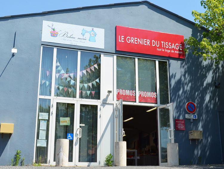 Magasin d 39 usine le grenier du tissage la s guini re - Linvosges magasin d usine ...